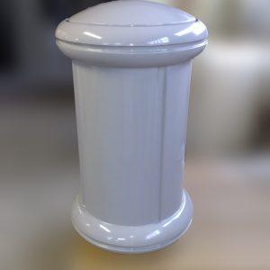 Avaloir de poubelle enterrée en composites