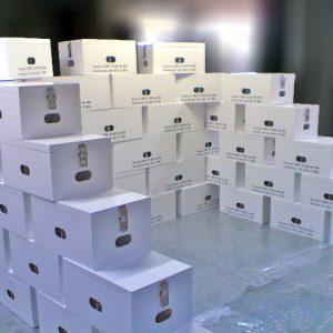 Containers composites pour atmosphère cryogénique